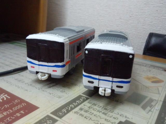 改造ぷられーる泉北高速7020系 作成記その2