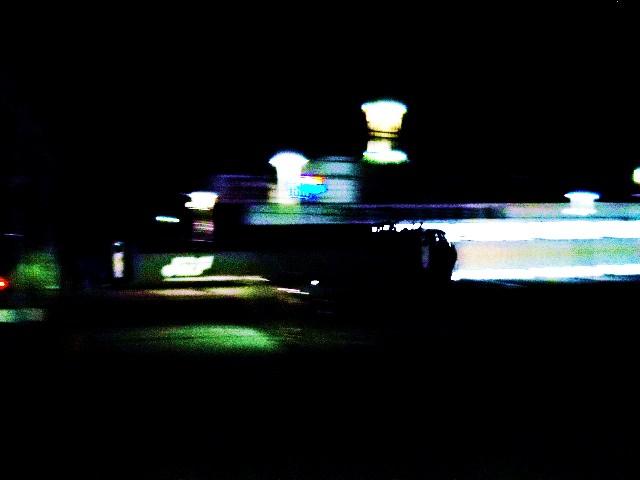 EF200を流すもう真っ暗ですけどかっこいい・・・