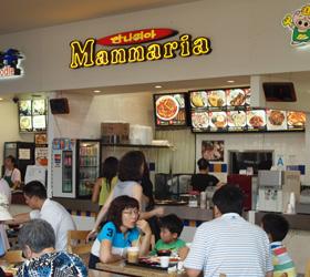 韓国風の洋食のお店