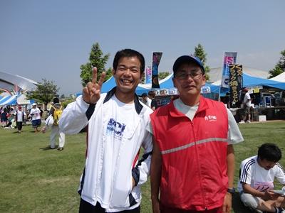 小林さんと山中さん