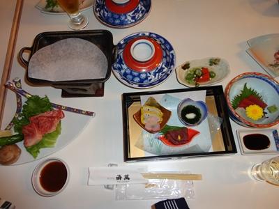 1日目の夕食