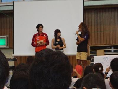 鏑木さん、間瀬さん、六花先生