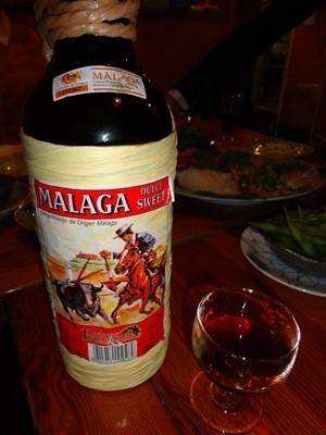 MALAGAワイン