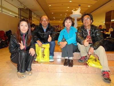 ライドさん、M沼さん、Y田さん