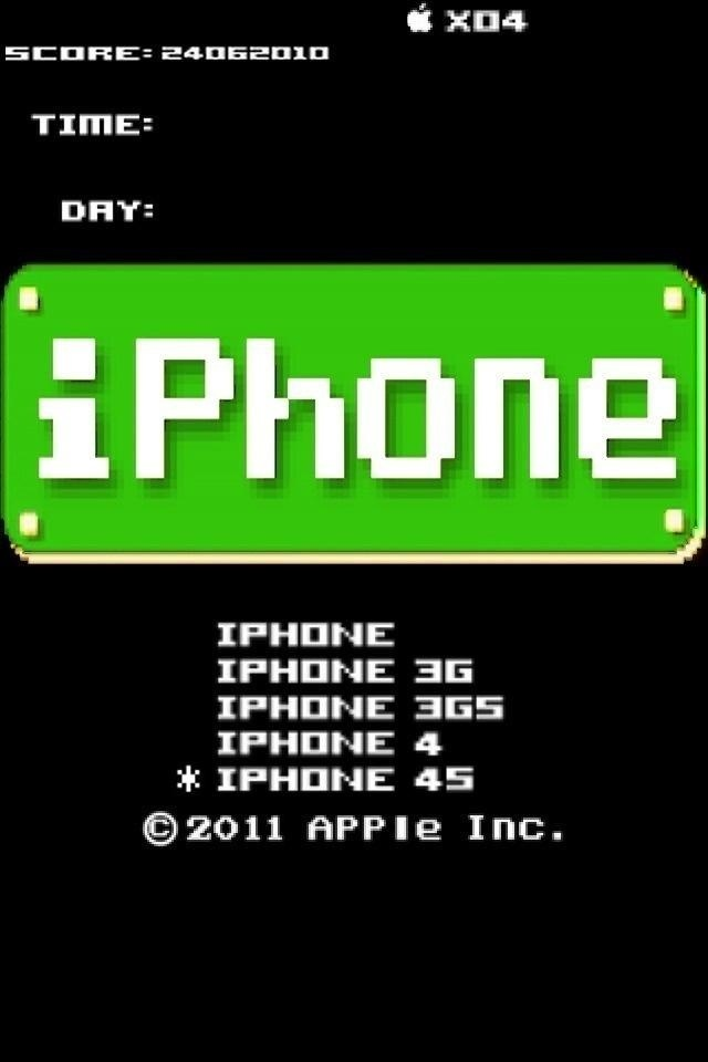 iPhone4・緑