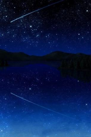 夜空・流星