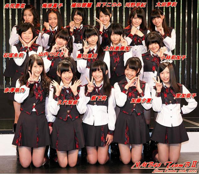 NMB48チームB2昇格