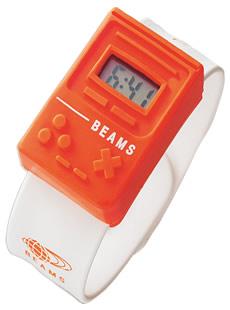 BEAMS・シリコンラバー腕時計