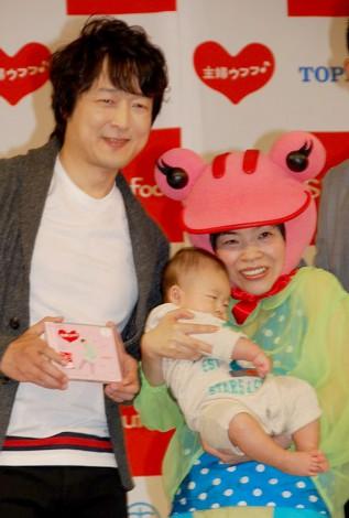 福島正紀、山田花子夫妻と息子・悠斗くん