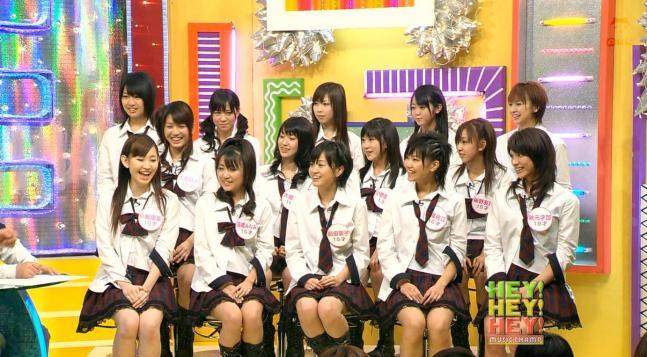 HEY!HEY!HEY!・AKB48