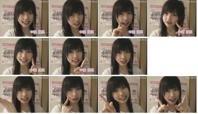 AKB48の中西里菜