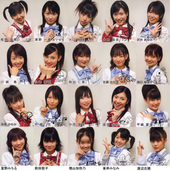 中西里菜・AKB48