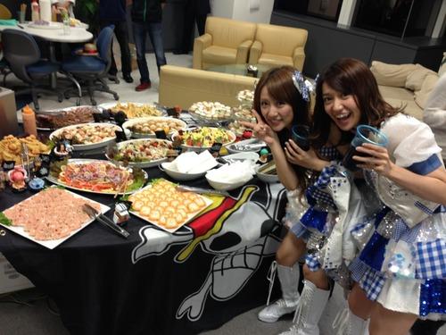 AKB48・ケータリング