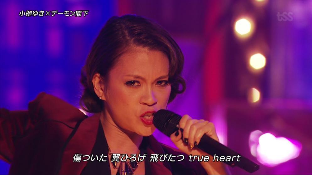 小柳ゆき・FNS歌謡祭