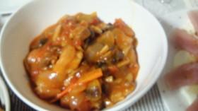 鶏肉と野菜たっぷりトマト煮込み