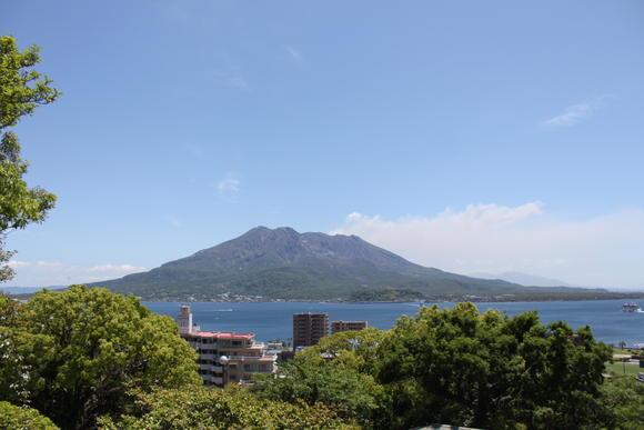 桜島(多賀山公園)