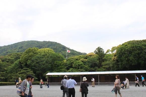 伊勢神宮と日の丸