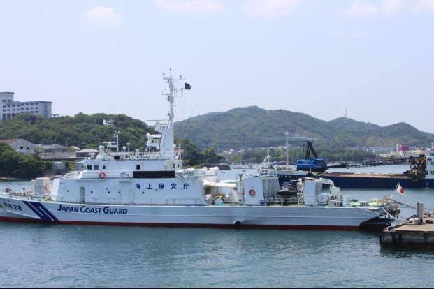 海上保安船いすず