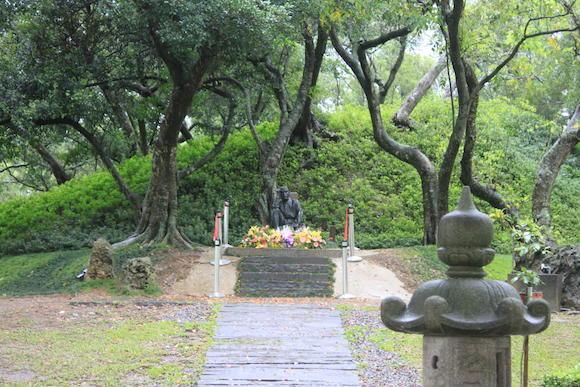 八田技師のお墓