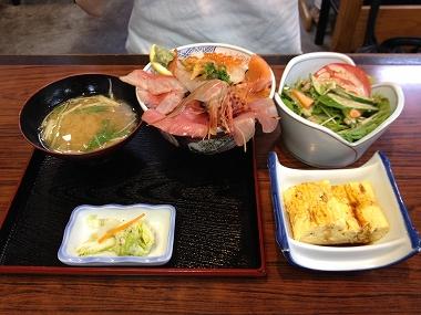 ゲコとっつぁん(海鮮丼) 008