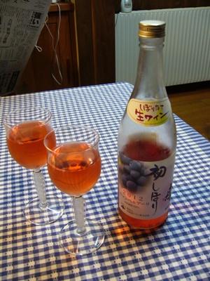 初搾りワイン