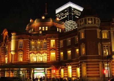 東京駅夜景2