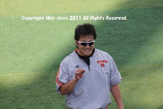 澤村投手#15