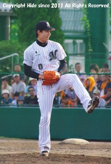 荻野 投手#0