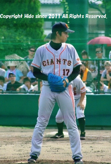 東野投手 #17