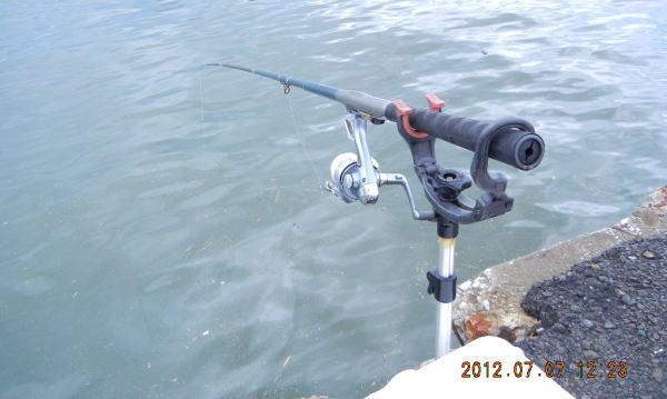 12:23 釣り開始 ♪