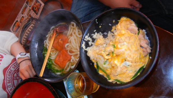 親子丼(うどん付)