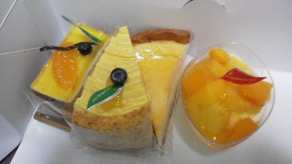 シャノワールのケーキ