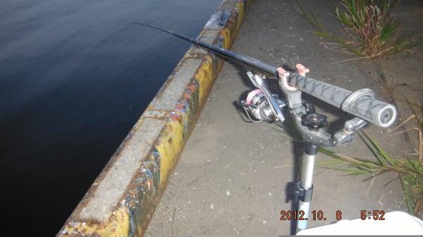 5:52 釣り開始