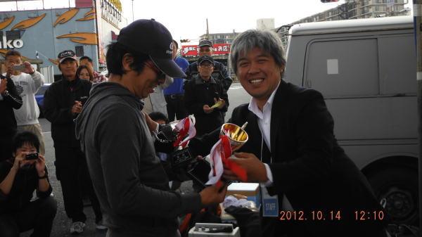 ゆまちきさんが、ハネ・スズキの部で優勝されました ^^