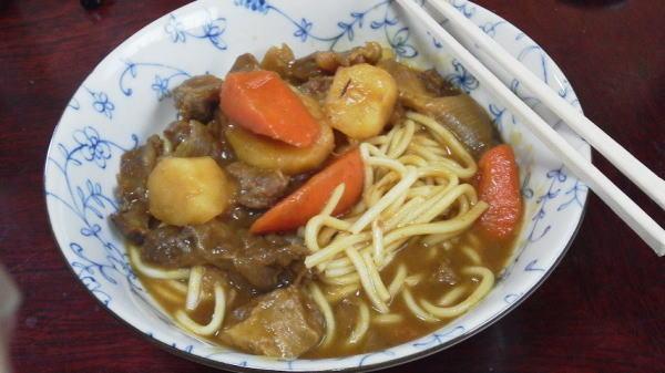 カレー中華麺 O(≧∇≦)O