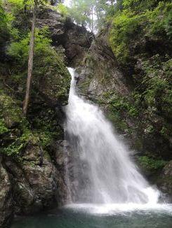 ほら貝の滝