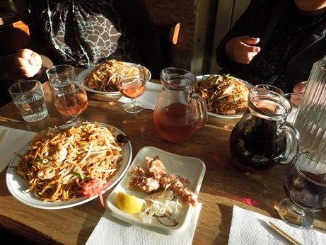 パリ日本食レストラン街