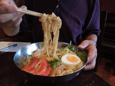 刀削麺シーアン②