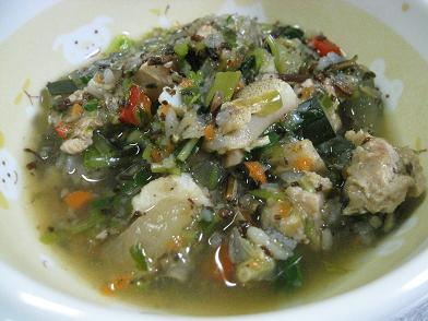 お魚色々スープ