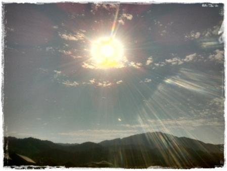 ごまちゃんと日食