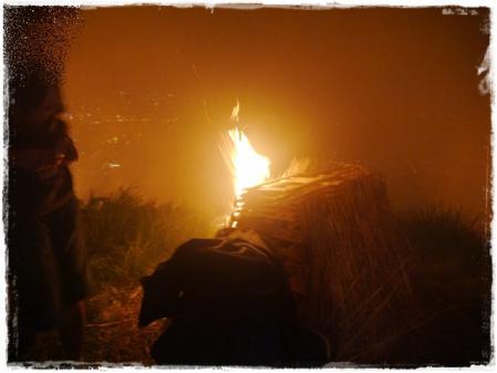 炎よ!燃えろ!!