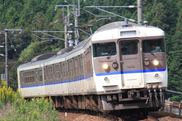 115系O-01 4両 西高屋-白市