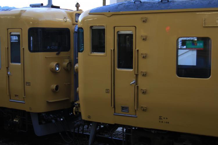 115系A-02+N-16 8両 海田市