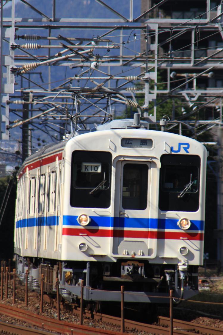 105系K-10 横川-広島