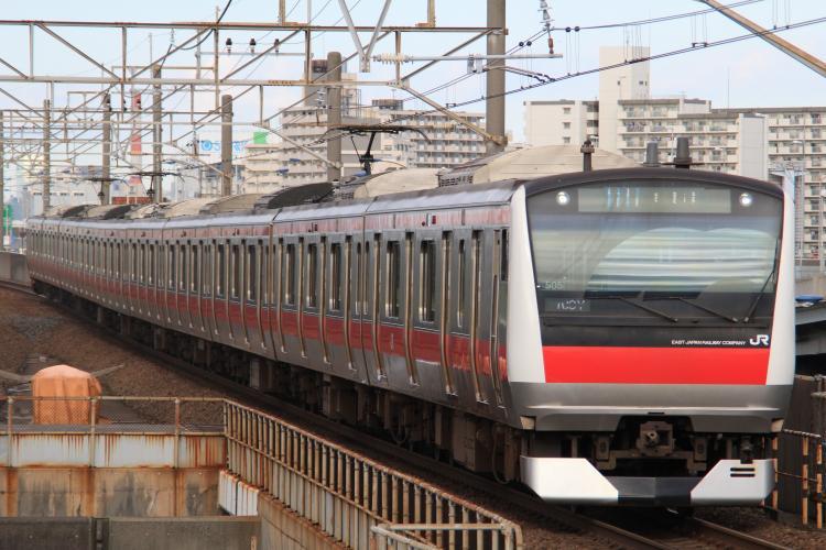E233系5000番台 ケヨ504 舞浜