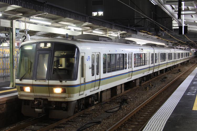 221系K15 4両 広島