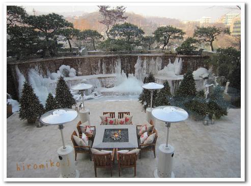 新羅ホテル 朝食2