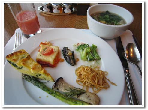 新羅ホテル 朝食3