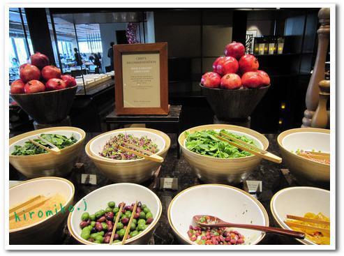 新羅ホテル 朝食4