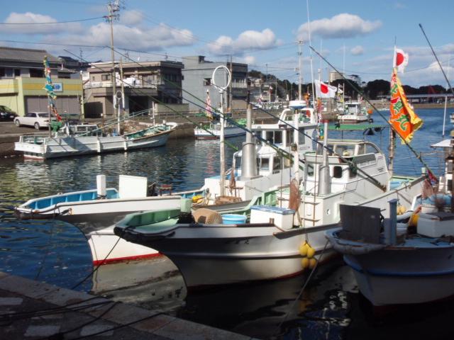 元日の漁港2